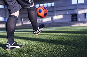 日本サッカー協会公認の人工芝